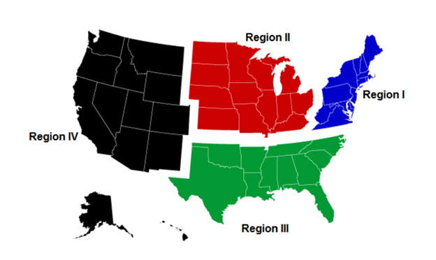 Us Youth Soccer Regions Map ODP FAQs   ODP | Florida